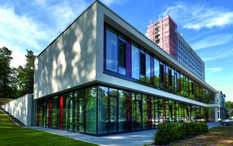 Die neue Klinik für Strahlentherapie und Radioonkologie